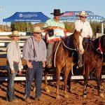 Ben Hall & Raevio, Mt Isa Novice A winners