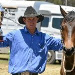 Ben Hall & Eltorrio with the 2014 Canning Downs Cup.