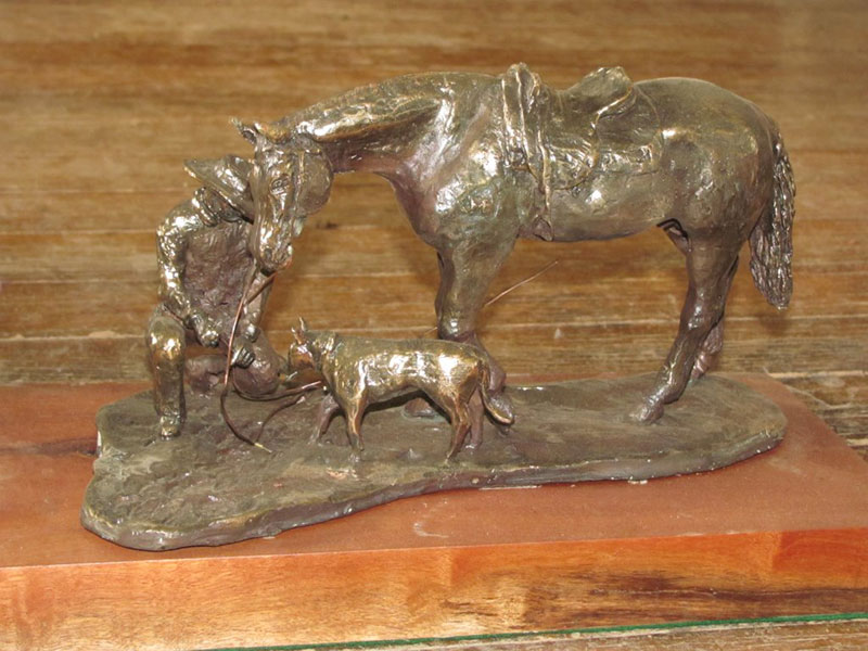 The Tracker by Bush Bronzes.