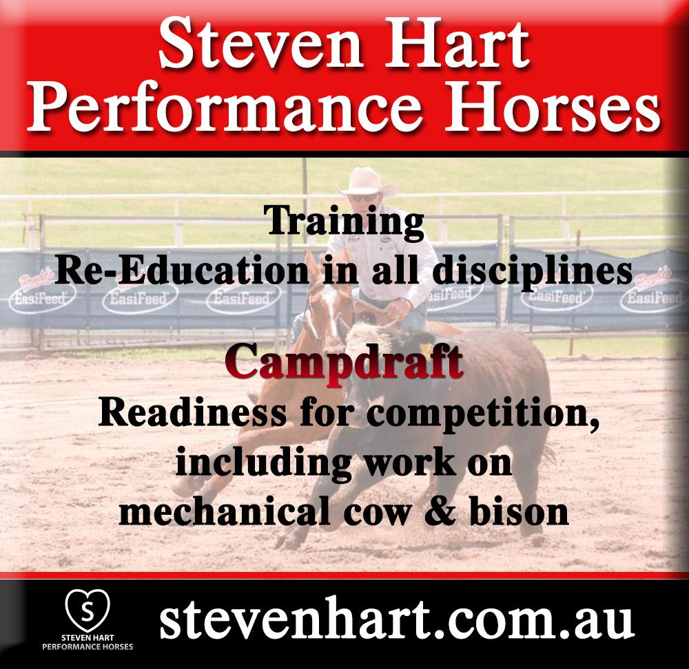 Steven Hart Horse intake