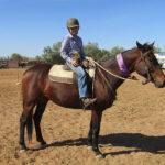 Bushranger & Madison Hall, Champion Girl rider, Saxby.