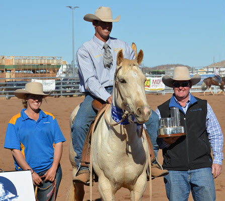 Jon Templeton & Pure Blonde Cloncurry 2014.