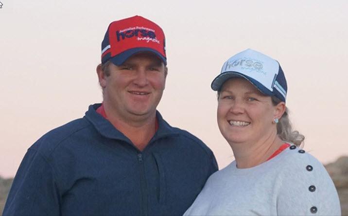 James & Tanya O'Ryan, new owners of The Australian Performance Horse Magazine.