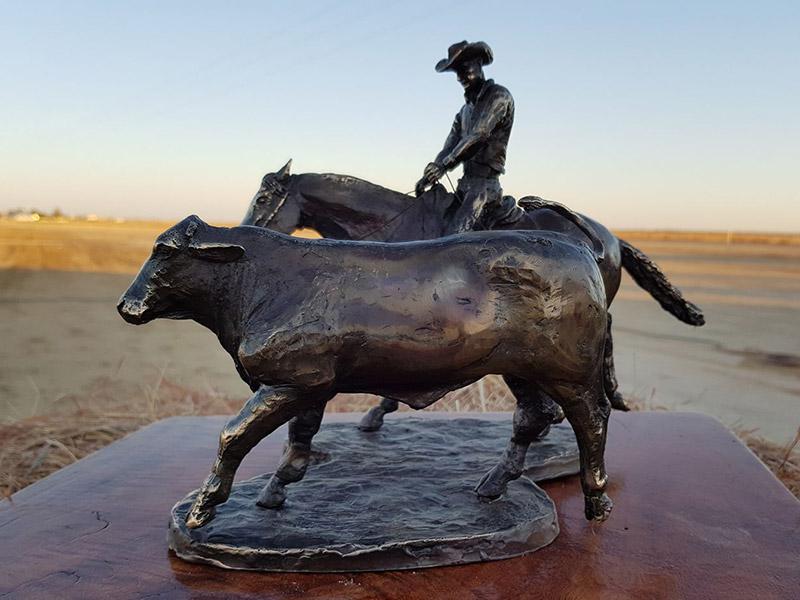 Latest Bush Bronze by Jaye Daley Hall.