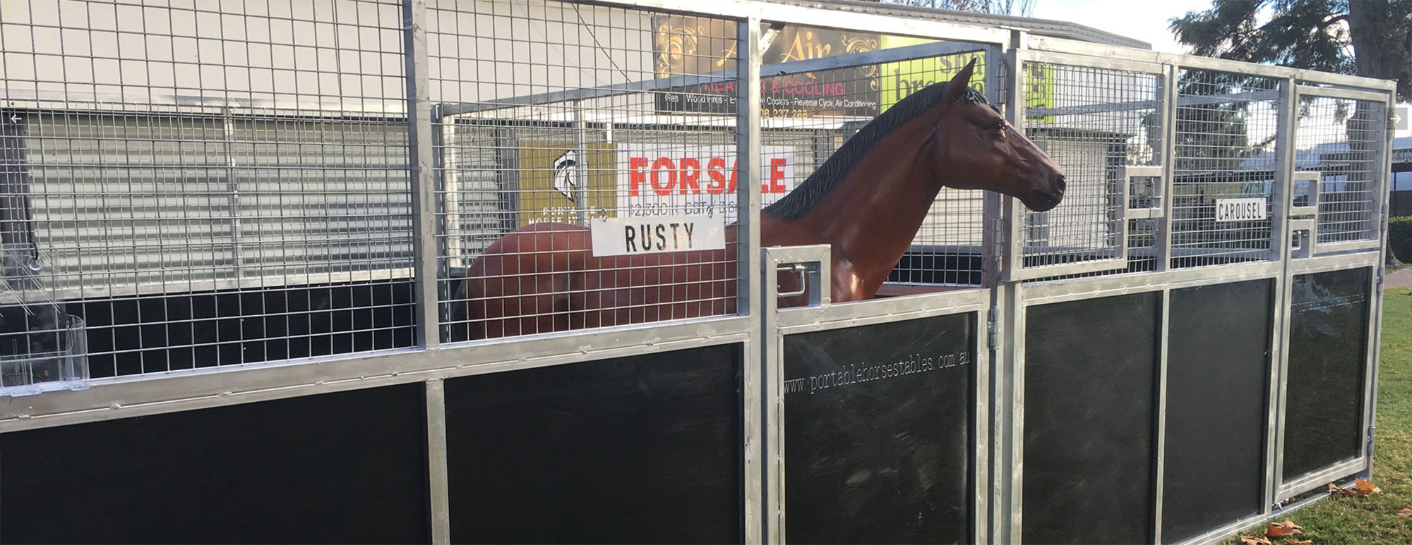 Portable Horse Stables Select Sires