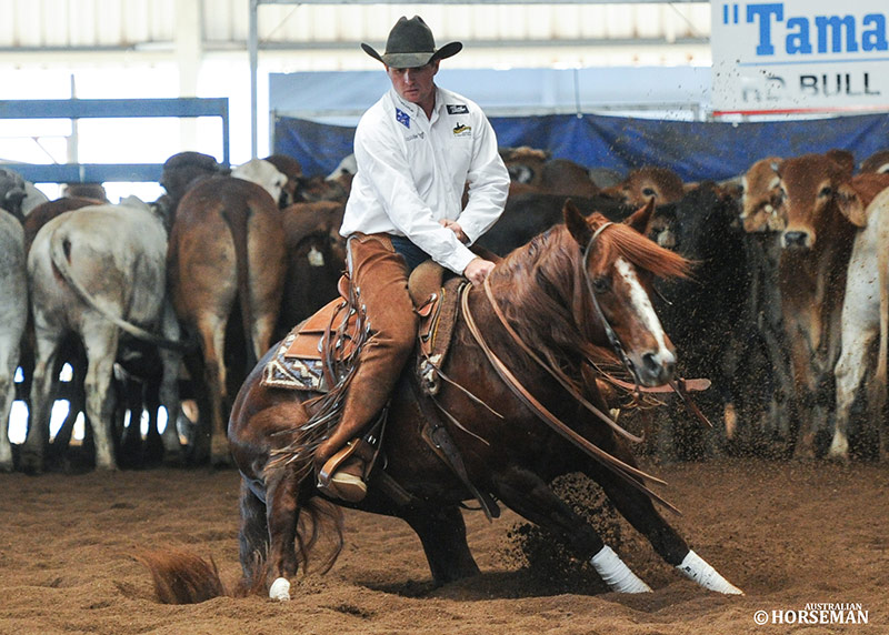 Photo by Australian Horseman. Proud Lil Pepto & Dean Holden.