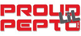 Proud Lil Pepto logo - sidebar