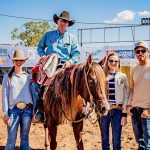 Photo by Purple Fairy Imagery. 2019 Comet Open Derby Co Reserve Champion, Quicksilver Cat with Jamie & Ella Seccombe & Laura & Jake Armstrong..