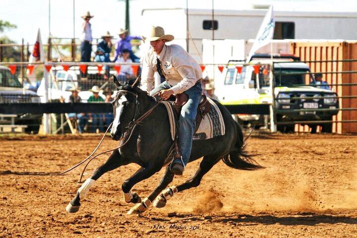 Jamie Seccombe Bluejay Justine stopping Cloncurry 2011