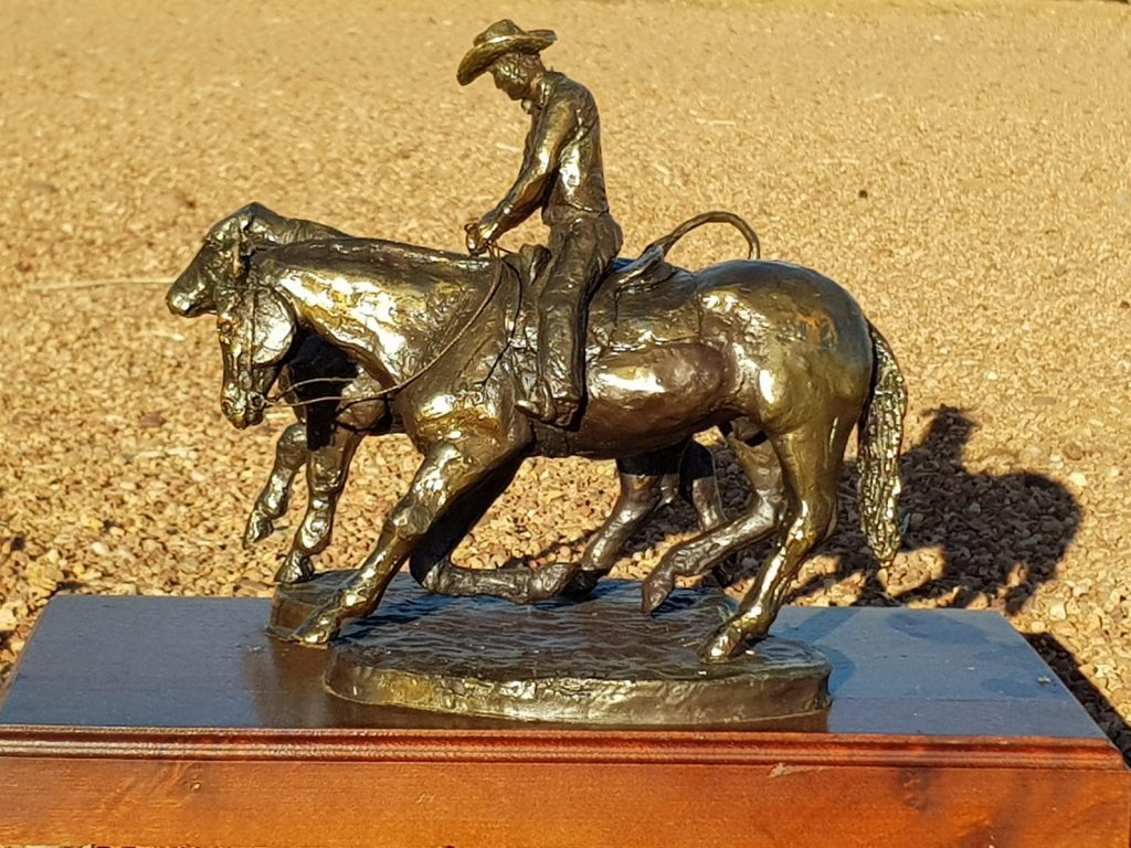 Cloncurry Stockmans Challenge trophy