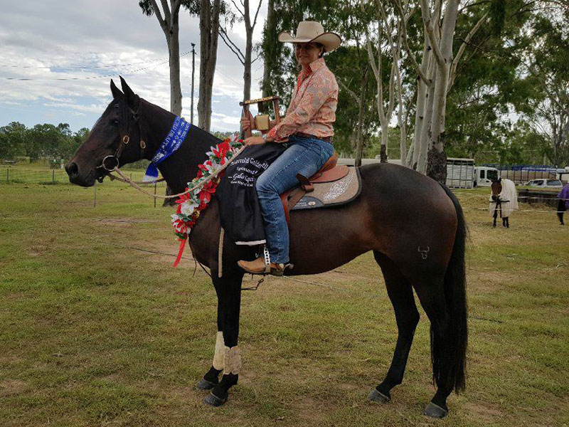Colleen Smith & Boonara Symphony, Eidsvold Res Open Winner 2017
