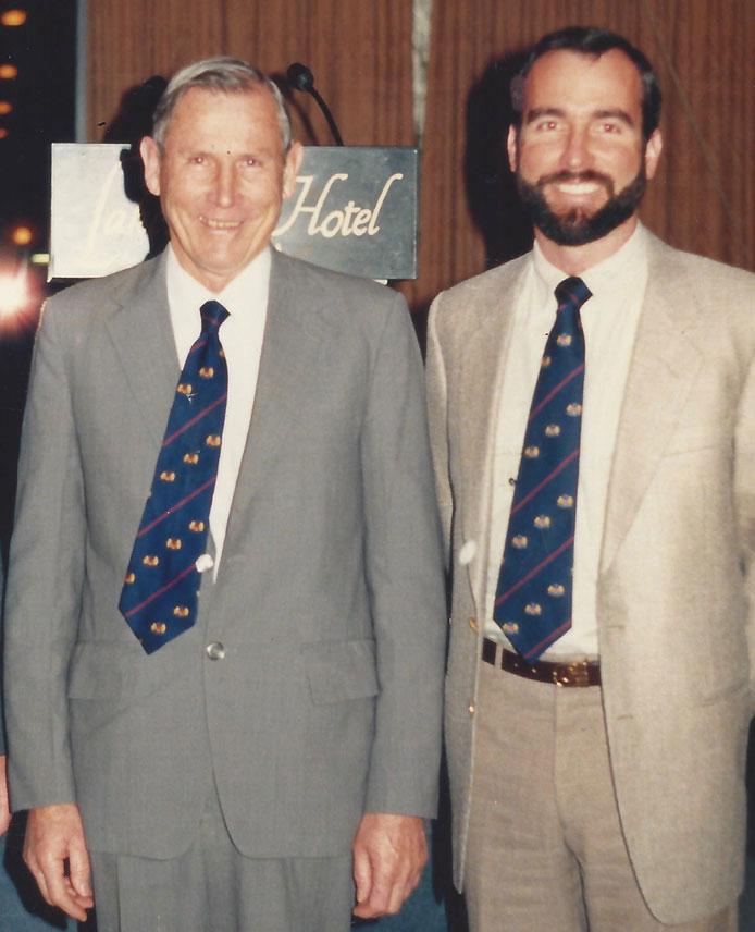 Dr Reg & David Pascoe