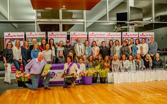 Ladies Purple Cutting 2018 presentation