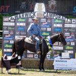 Hazelwood Congressman & Rob Leach, 2018 Warwick Stallion draft Winner.