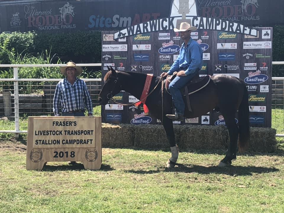 Jon Templeton & Holdens Contrast, Warwick 2018