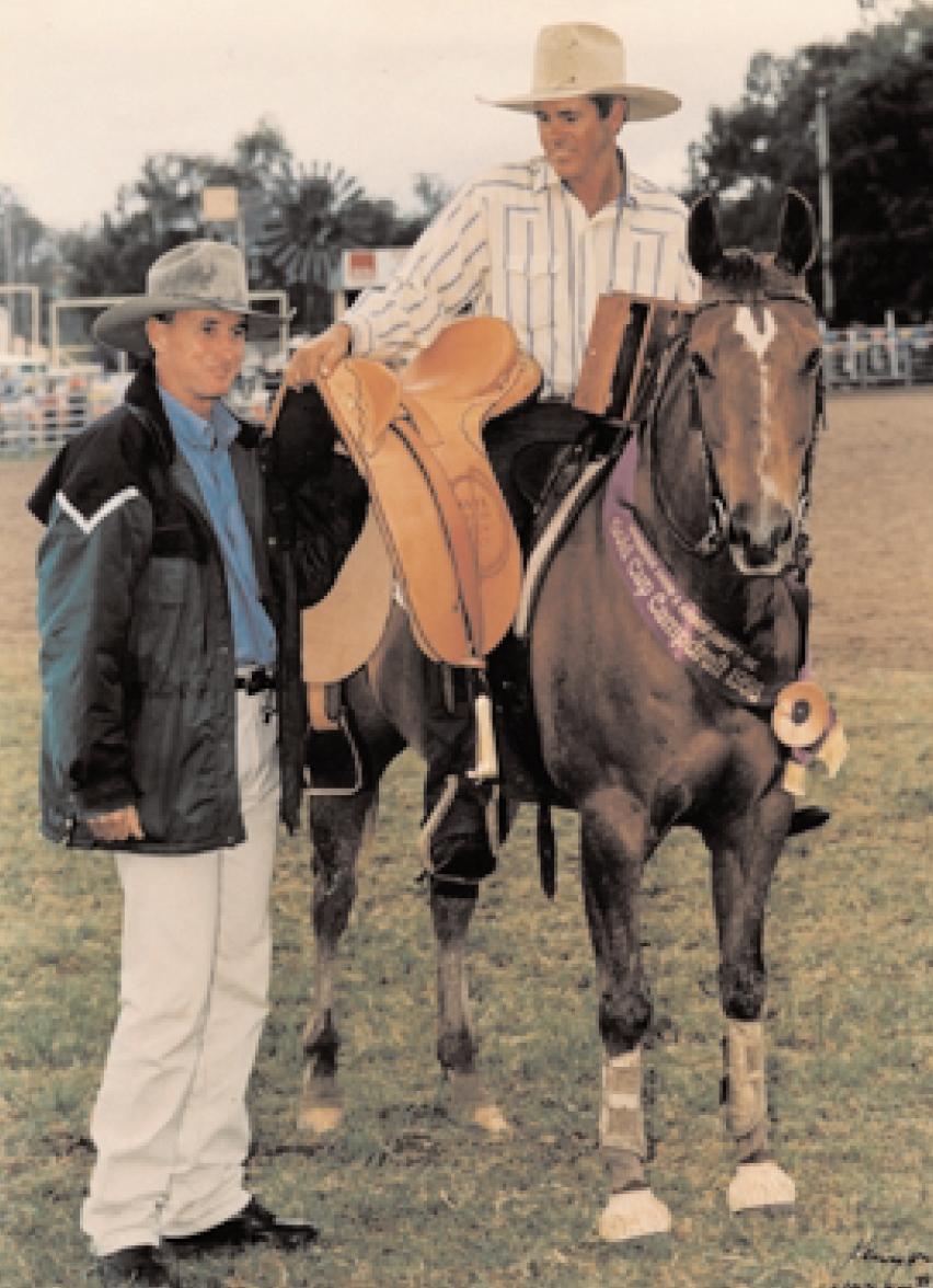 John Meek & Doc's Chevelle, 1997 Warwick Gold Cup winners