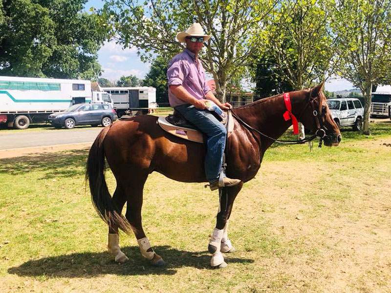 Archdale Convoy & Pete Stevenso. Armidale Novice 2019