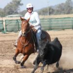 Spins Boonshine & Abby Kettner, Cloncurry 2018.